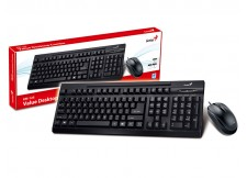 KIT TECLADO E MOUSE GENIUS - KM-125